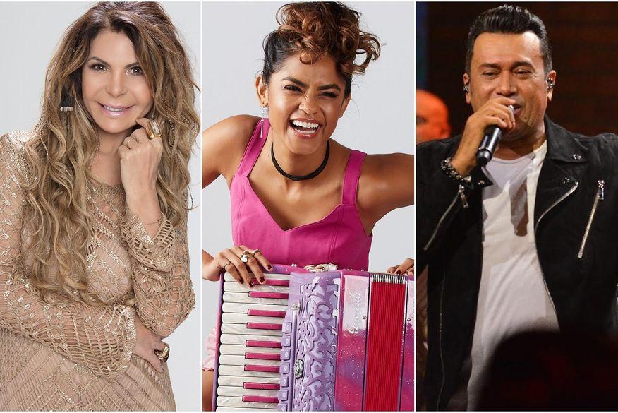 Elba Ramalho, Lucy Alves e Zé Cantor fazem lives nesta sexta; confira programação completa
