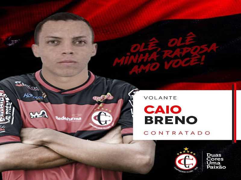 Campinense confirma sua quarta contratação para retomada do Paraibano