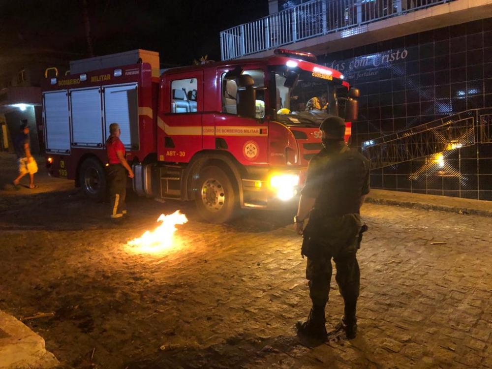 Fiscalização flagrou fogueiras acesas na Paraíba (Foto: Divulgação /Assessoria) - paraiba.com.br