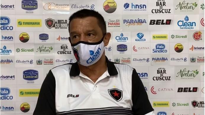Técnico do Botafogo/PB Mauro Fernandes, promete títulos