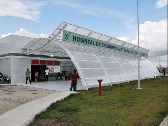 Imagem ilustrativa - Hospital de Trauma de Campina Grande/Foto: @DR - wscom