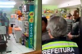 Em meio à pandemia de Covid-19, bar disfarçado de pet shop é interditado; veja o vídeo