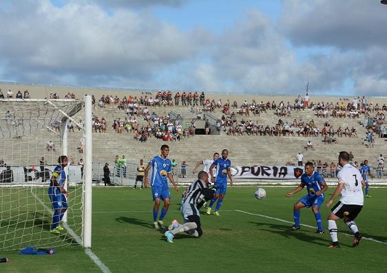 Atlético de Cajazeiras-PB treina no Higino Pires