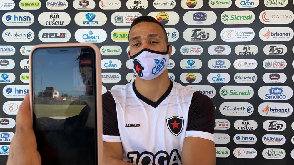 Botafogo PB: Lohan pronto para brigar pela artilharia do Campeonato Paraibano