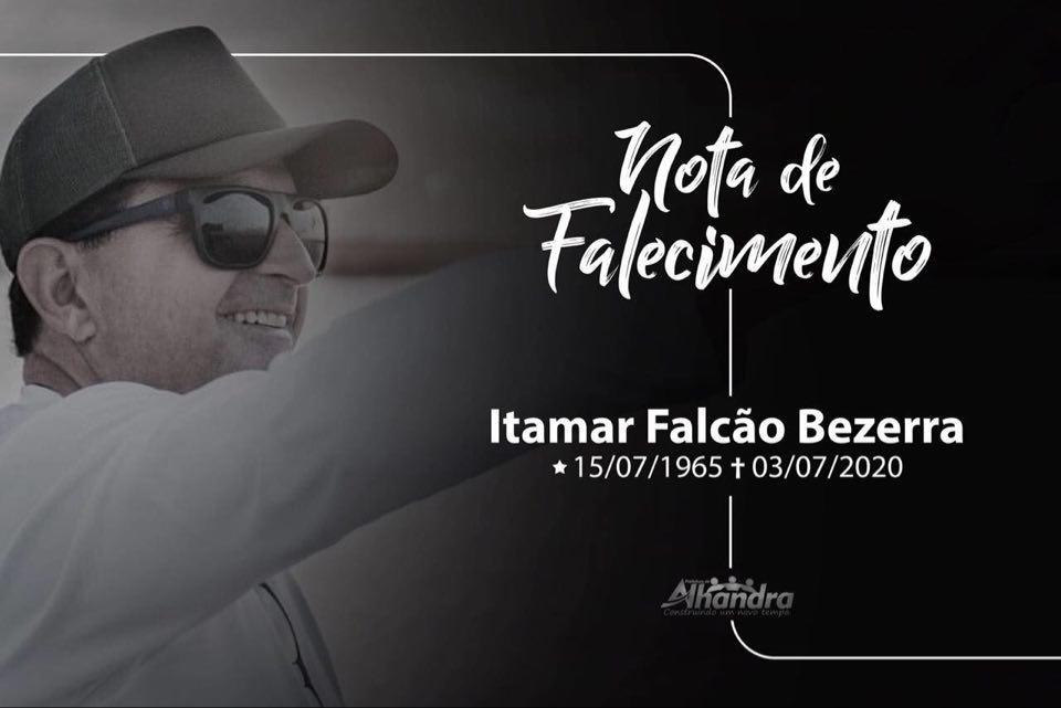 Prefeitura de Alhandra decreta Luto Oficial pelo falecimento de Dr. Itamar Bezerra, odontólogo do município